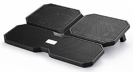 """Suporte para Notebook DeepCool MultiCore X6 - até 15.6"""" - 4 Coolers - DP-N422-MCX6"""