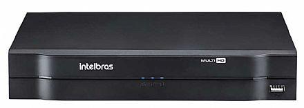 DVR 16 Canais Intelbras MHDX 1116 - Stand Alone - Multi HD - IP, HDCVI, HDTVI 2.0, AHD-M, Analógica - Compatibilidade ONVIF