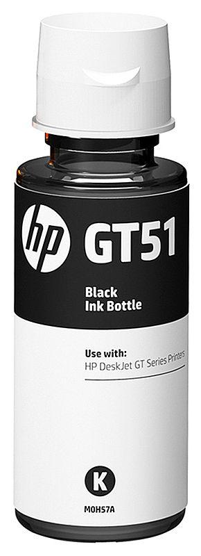 Refil de Tinta HP GT51 M0H57-AL - Preto - Para Multifuncionais Tanque de Tinta HP Deskjet GT 5810, GT 5820, GT 5822