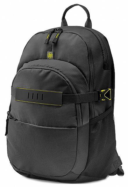 """Mochila HP Explorer T0E28AA - para notebook até 15,6"""" - Preta"""