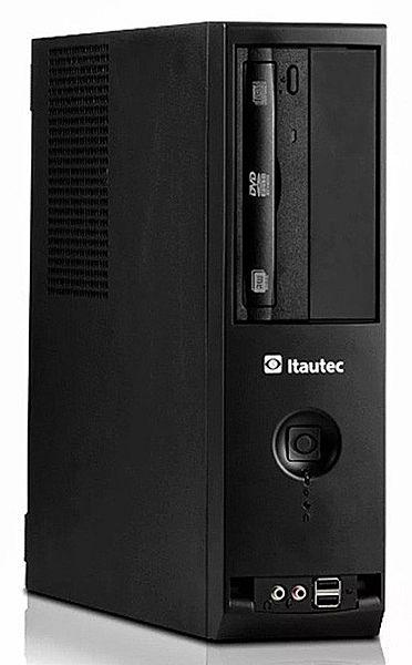 Computador Itautec Infoway ST 4272P - Intel® Pentium G840, 8GB, HD 500GB, DVD, Windows 7 Pro - Garantia 1 ano - Seminovo
