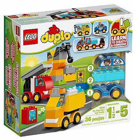 LEGO Duplo - Os Meus Primeiros Veiculos - 10816