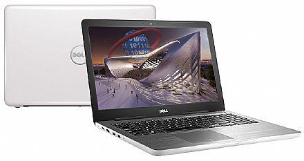 "Notebook Dell inspiron i15-5567-D40B - Tela 15.6"", Intel i7 7500U, 16GB, HD 1TB, DVD, Video Radeon R7 M445 4GB, Linux"
