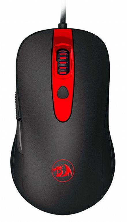 Mouse Redragon Cerberus - 7200dpi - 6 Botões - M703