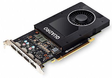 Placa Gráfica Nvidia Quadro P2000 5GB GDDR5 160bits - PNY XVCQP2000-PB / VCQP2000-PORPB