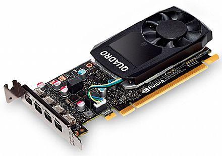 Placa Gráfica Nvidia Quadro P1000 4GB GDDR5 128bits - PNY VCQP1000-PORPB