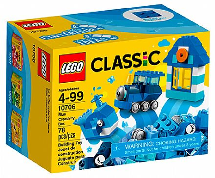 LEGO Classic - Caixa de Criatividade Azul - 10706
