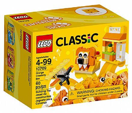 LEGO Classic - Caixa de Criatividade Laranja - 10709