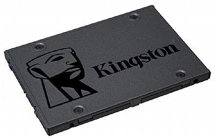 SSD 120GB Kingston A400 - Leitura 500 MB/s - Gravação 320MB/s - SA400S37/120G