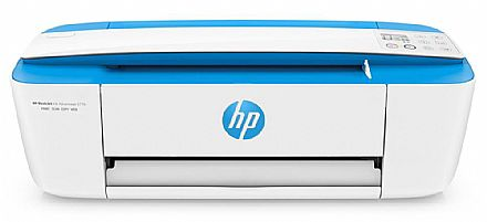 Multifuncional HP Deskjet Ink Advantage 3776 - USB, Wi-Fi - Impressora, Copiadora e Scanner - J9V88A - Open Box