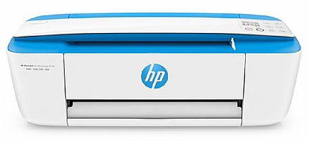 Multifuncional HP Deskjet Ink Advantage 3776 - USB, Wi-Fi - Impressora, Copiadora e Scanner - J9V88A - Open Box