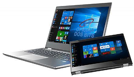 """Notebook Lenovo Yoga 520 2 em 1 - Tela 14"""" HD Touchscreen, Intel i5 7200U, 16GB, HD 1TB, Leitor Biométrico, Windows 10 Pro - 80YM000BBR"""