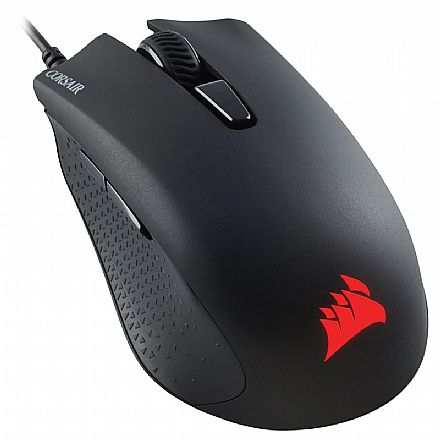 Mouse Gamer Corsair Harpoon RGB - 6000dpi - 6 Botões Botões Programáveis - CH-9301011-NA