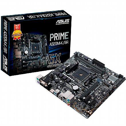 Asus Prime A320M-K/BR (AM4 - DDR4 3200 O.C.) Chipset AMD A320 - Slot M2 - mATX
