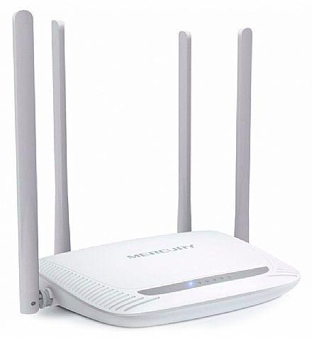 Roteador Wi-Fi Mercusys MW325R - 300Mbps - 4 Antenas de 5dBi