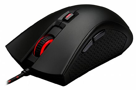 Mouse Gamer HyperX Pulsefire FPS HX-MC001A/AM - Sensor Pixart 3310 - 3200dpi - Switches Omron