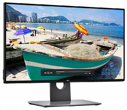 """Monitor 27"""" Dell U2717D UltraSharp - Tela Infinita Quad HD 2560 x 1440 - QHD - Rotação e Ajuste de Altura - HUB USB 3.0 - Seminovo - Garantia 90 dias"""