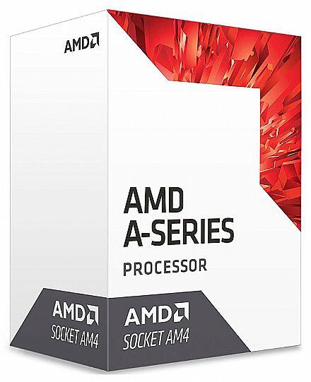 AMD A8-9600 Quad Core - 3.1GHz (Turbo 3.4GHz) Cache 2MB - AM4 - TDP 65W - AD9600AGABBOX
