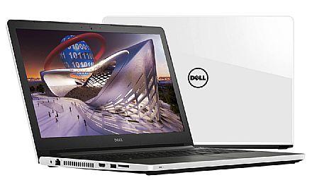 "Notebook Dell Inspiron i15-5566-A70B - Tela 15.6"", Intel i7 7500U, 16GB, HD 1TB, Video Radeon R7 M440 2GB, Windows 10 - Branco"