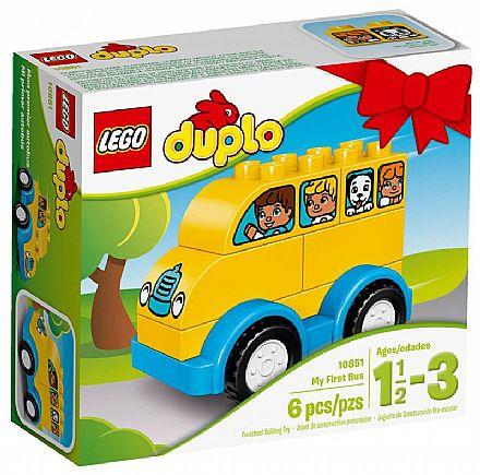 LEGO Duplo - O Meu Primeiro Ônibus - 10851