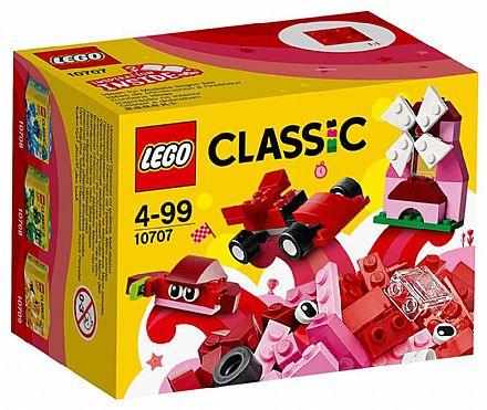 LEGO Classic - Caixa de Criatividade Vermelha - 10707