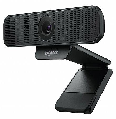 Web Câmera Logitech C925E - Videochamadas em Full HD 1080p - com Microfone - 960-001075
