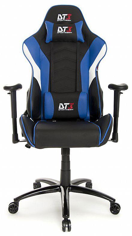 Cadeira Gamer DT3 Sports Elise Blue - Encosto Reclinável de 180º - Construção em Aço - 10634-4