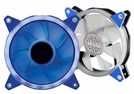 Cooler 120x120mm Akasa Vegas R - LED Azul - AK-FN097-BL
