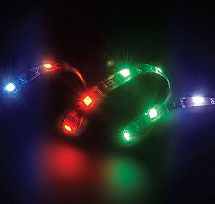 Fita de LED Akasa Vegas MB - RGB - 50cm - Fita Magnética - AK-LD05-50RB