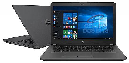 "Notebook HP 240 G6 - Tela 14"", Intel i3 7020U, 8GB DDR4, SSD 128GB, Intel HD Graphics 620, Windows 10"