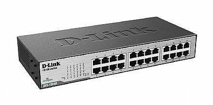 Switch 24 portas D-Link DES-1024D - 100Mbps