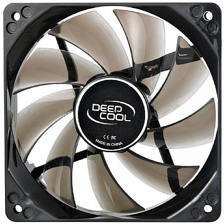 Cooler 120x120mm Deepcool Wind Blade - LED Branco - DP-FLED-WB120-WH