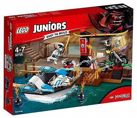 LEGO Juniors - A Perseguição de Barco Ninja do Zane - 10755