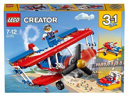 LEGO Creator - Avião de Acrobacias Ousadas - 31076