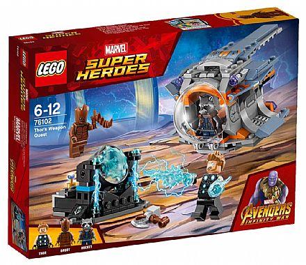 LEGO Marvel Super Heroes - Procura da Arma de Thor - 76102
