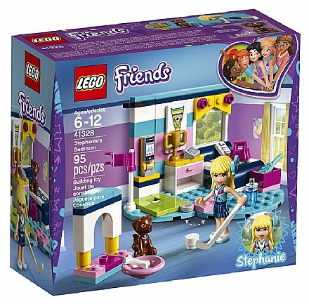 LEGO Friends - O Quarto da Stephanie - 41328