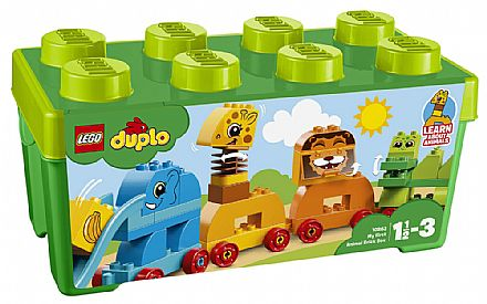 LEGO Duplo - A Minha Primeira Caixa - Trem Animal - 10863