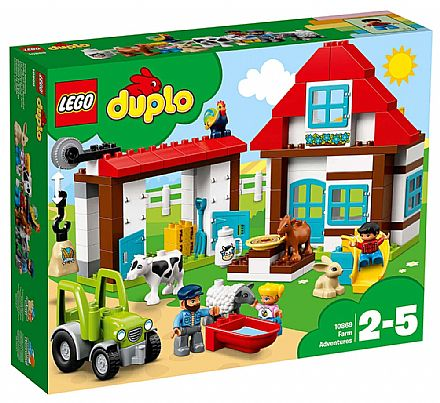 LEGO Duplo - Aventuras na Fazenda - 10869