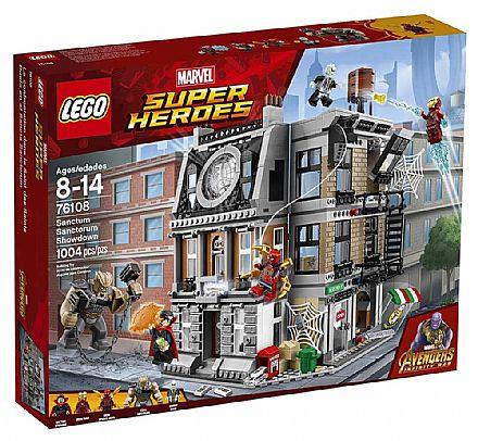 LEGO Marvel Super Heroes - O Confronto Sanctum Sanctorum - 76108