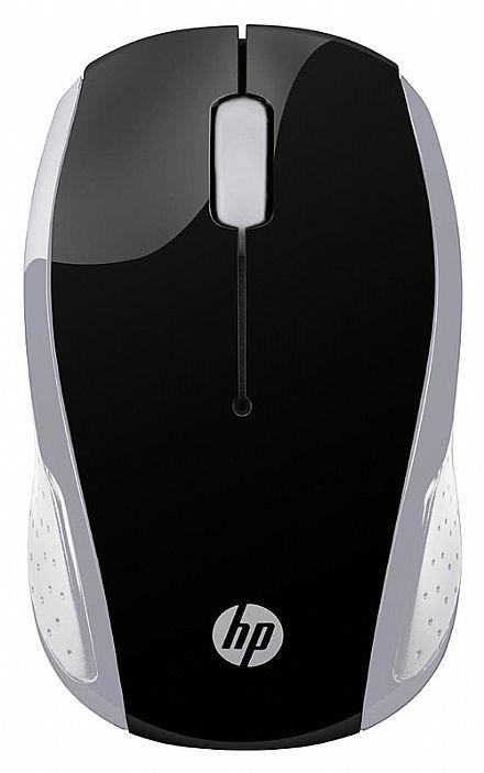 Mouse sem Fio HP X200 Oman - 2,4 GHz - 1000dpi - Cinza - 2HU84AA