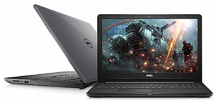 "Notebook Dell Inspiron i15-3576-A60C - Tela 15.6"", Intel i5 8250U, 8GB, HD 1TB, Vídeo Radeon 520 2GB, Windows 10"