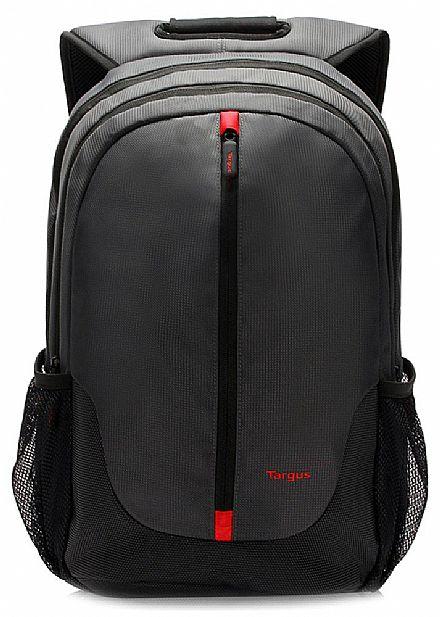 """Mochila Targus City Essential TSB818 - Resistente à água - para Notebooks de até 15.6"""" - Preta"""