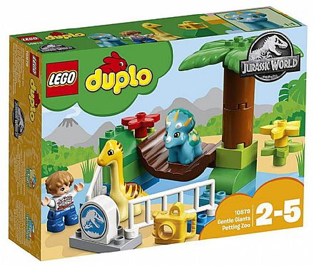 LEGO Duplo Jurassic World - Zoológico de Gigantes Mansos - 10879