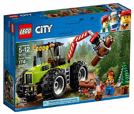 LEGO City - Trator Florestal - 60181