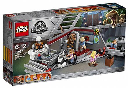LEGO Jurassic World - Perseguição de Raptor - 75932