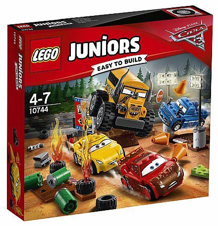 LEGO Juniors - Corrida em Circuito Fechado - Crazy 8 -10744