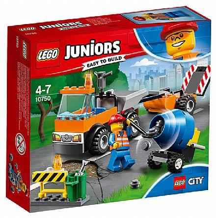 LEGO City Juniors - Caminhão de Reparação das Estradas - 10750