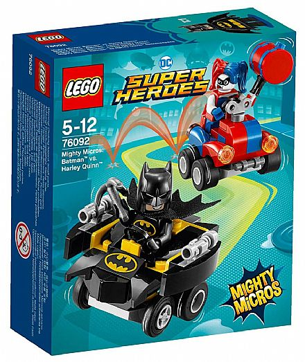 LEGO DC Super Heroes - Mighty Micros: Batman vs. Arlequina - 76092