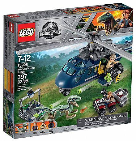 LEGO Jurassic World - A Perseguição de Helicóptero - 75928