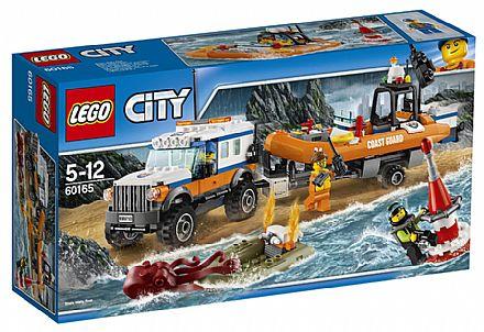 LEGO City - Unidade de Resgate 4 x 4 - 60165